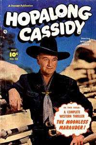 Cassidy Comics Books on DVD   Western Golden Age Cowboy Boyd TV