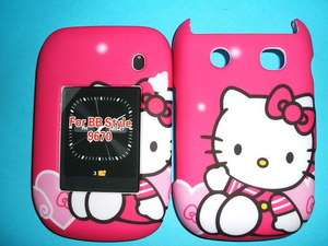 BLACKBERRY STYLE 9670 PINK HELLO KITTY CASE COVER