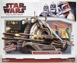 CORPORATE ALLIANCE TANK DROID Star Wars Clone Wars 2009