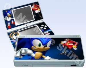 Nintendo DS Lite Skin Vinyl Decal   Sonic