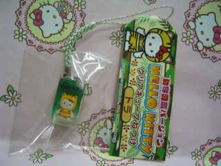 Sanrio Hello Kitty Zoology Illustration Tiger Mobile Cell Phone Strap