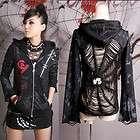 Y235 Punk Visual kera dolly Gothic lolita Unisex Jacket Coat