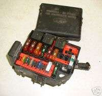 1999 99 GRAND MARQUIS FUSE BOX RELAY PANEL OEM