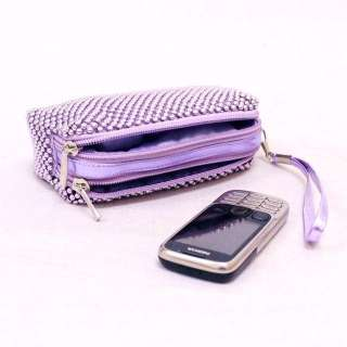NEW WEDDING BRIDAL PARTY MINI CLUTCH PURSE COSMETIC MAKEUP POUCH BAG