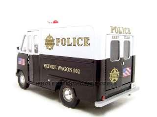 1950 FORD STEP VAN POLICE 1:24 DIECAST MODEL