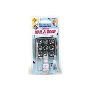 KISS PRODUCTS Deluxe Nail and Body Art Kit Beauty