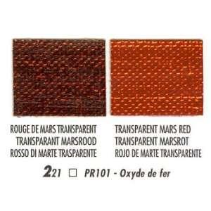 Blockx Artist Oil Colors 200 ml Transparent Mars Red Arts