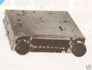 1973 MACK 1MK1132 AUTO RADIO SERVICE MANUAL SCHEMATIC