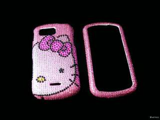 Kitty Bling Crystal RHINESTON Cases for Samsung M900 Moment