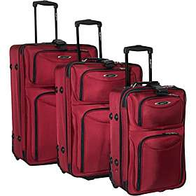 Travelers Choice El Dorado 3 Piece Expandable Luggage Set