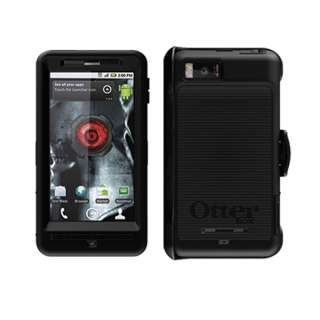 Droid X2 OtterBox Defender Series Rugged Case Belt Clip Holster