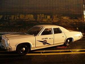 Dodge Monaco 1977 Washington State Highway Patrol Car, White