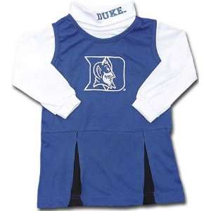 Duke Blue Devils Girls 4 6X Cheerleader Uniform: Sports