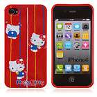 SANRIO HELLO KITTY IPHONE CASE FOR APPLE IPHONE 4/ 4S   RED 277380