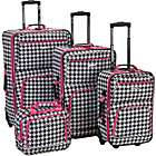Rockland Luggage 4 Piece Expandable Luggage Set (Limited Time Offer