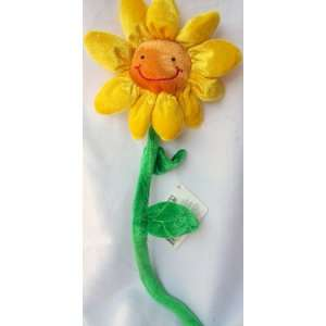 Animal Alley Plush Smiley Face Sun Flower Toy Toys & Games