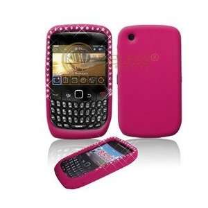 Premium Hot Pink Soft Silicone Gel Skin Cover Case with