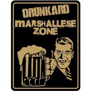 Marshallese Zone / Retro  Marshall Islands Parking Sign Country