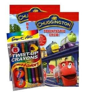 Chuggington® Coloring Book Set with Twist up Crayons