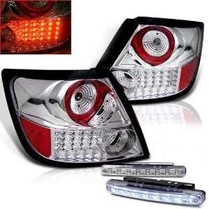 Eautolight 05 10 Scion Tc LED Tail Lights+led Bumper Fog