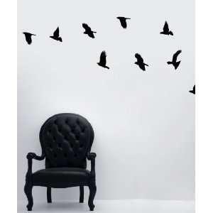 Vinyl Wall Decal Sticker Flying Birds MCrespo101