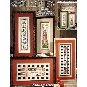 Welcome From Penny Lane   Cross Stitch Pattern Home