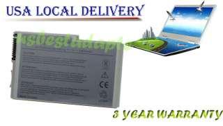 cell DELL LATITUDE D500 D600 D610 500M C1295 BATTERY