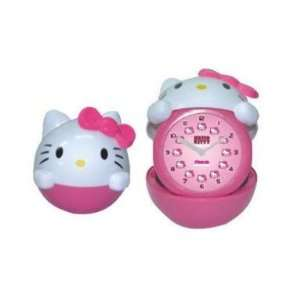 Hello Kitty Desk Table Alarm Clock Body Shape Pink: Everything Else