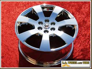 18 CADILLAC SRX OEM CHROME WHEELS RIMS SET EXCHANGE
