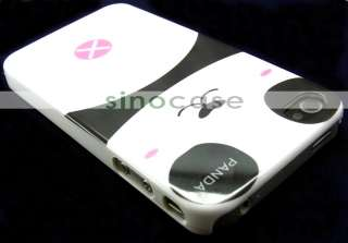 Hight Quality Lovely Female Panda Pattern Style Hard Case for Apple