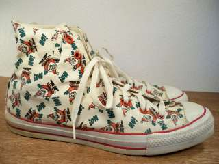 Santa Claus Christmas High Top Mens Sneaker Shoes Kicks 10 USA