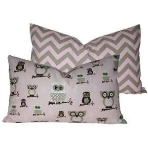 Night Owl Lumbar Pillow: Home & Kitchen