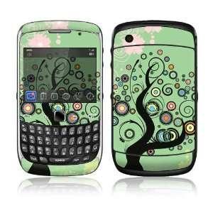 BlackBerry Curve 3G Decal Skin Sticker   Girly Tree