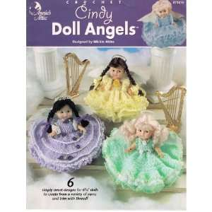 Annies Attic Crochet Cindy Doll Angels 871815 (Simply