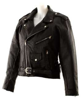 Women Classic Leather Motorcycle Jacket   SEAMLESS
