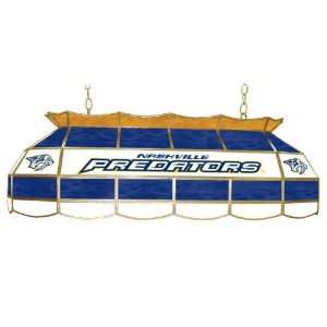 Nashville Predators Stained Glass 40 inch Lighting Fixtu Electronics