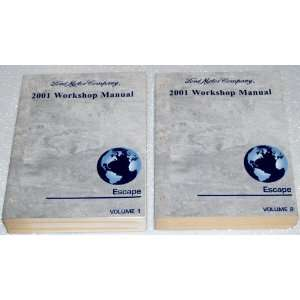 Ford Escape Workshop Manuals (2 Volume Set) Ford Motor Company Books