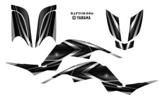YAMAHA Raptor 660 QUAD Graphic Decal Kit 2222Metal