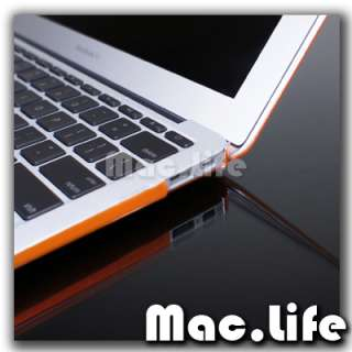 METALLIC ORANGE Hard Case Cover for NEW Macbook Air 13