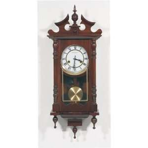 Beautifully Decorated Wood Wall Clock