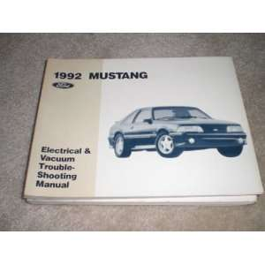 Vacuum Troubleshooting Manual Mustang ford motor co. Books