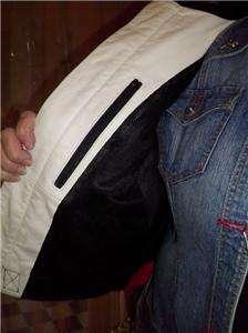 Harley Davidson Leather Jacket 2XL Rapid City Red White 97158 03VW