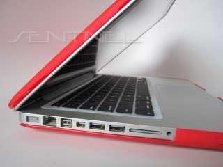 13 inch MacBook Pro Rubberized Hard Case   Ferrari Red