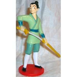 Disney Mulan Captain Li shang, 4 Figure Doll Toy Cake