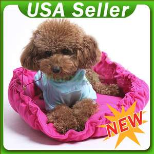 22.8 Round Hot Dog Cat Pet Carrier Bed Mat House Bag