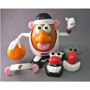 Miami Heat NBA Sports Spuds Mr. Potato Head Toy