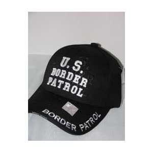 Black Border Patrol Cap