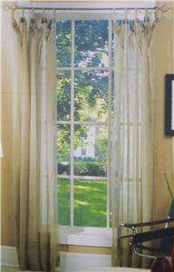 Sage Green Window Curtains Drapes Chloe Treatment Panel