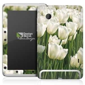 Design Skins for HTC Flyer   White Tulip Design Folie