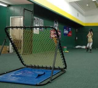 Pitch Back Baseball Softball Batting Cage Trainer Net